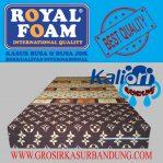 Kasur Busa Royal Foam 90x200x20 Motif LV