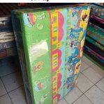 Kasur Busa Lipat Jumbo 120x180x8 Motif Spongebob Squarepants