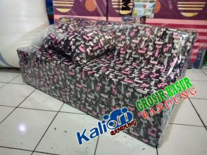 Sofa Bed Biasa 120x180x10 Motif Kucing