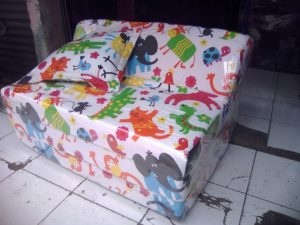 Sofa Bed Busa Biasa Ukuran 90x180x10 Motif Animals