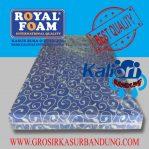 Kasur Busa Royal Foam 120x200x14 Motif Tralis Biru