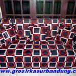 Sofa Bed Busa Super Ukuran 180x200x20 (No.1) Motif Abstrak