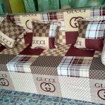 Sofa Bed Busa Super, Ukuran 160x200x20 Motif Gucci
