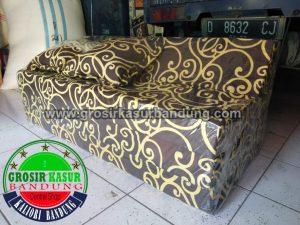 Sofa Bed Biasa Ukuran 120x180x10 Motif Tralis