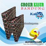 Kasur Busa Superyellow Ukuran 90x200x14 Motif Polkadot Kotak Hitam