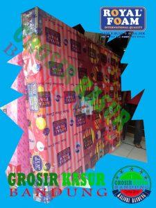 Kasur Busa Royal Pink Ukuran 160x200x20
