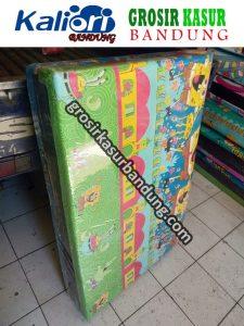 Kasur Busa Lipat Jumbo Ukuran 140x180x10 Muat Untuk 2 Orang. Motif Spongebob