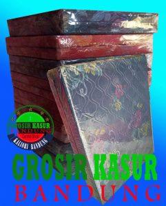 Kasur Busa Lipat Ukuran 90x180x10 Cover Kain Spring Bed